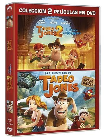 Pack: Tadeo Jones 1+ Tadeo Jones 2 [DVD]: Amazon.es: Óscar ...
