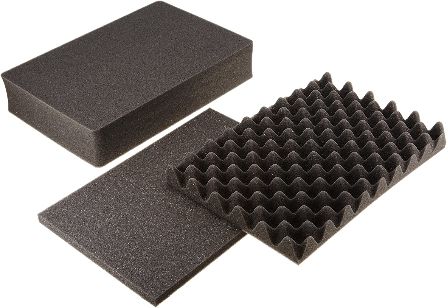 Pelican 1501 Replacement 3 Pc Pick N Pluck Foam Set for 1500 Case
