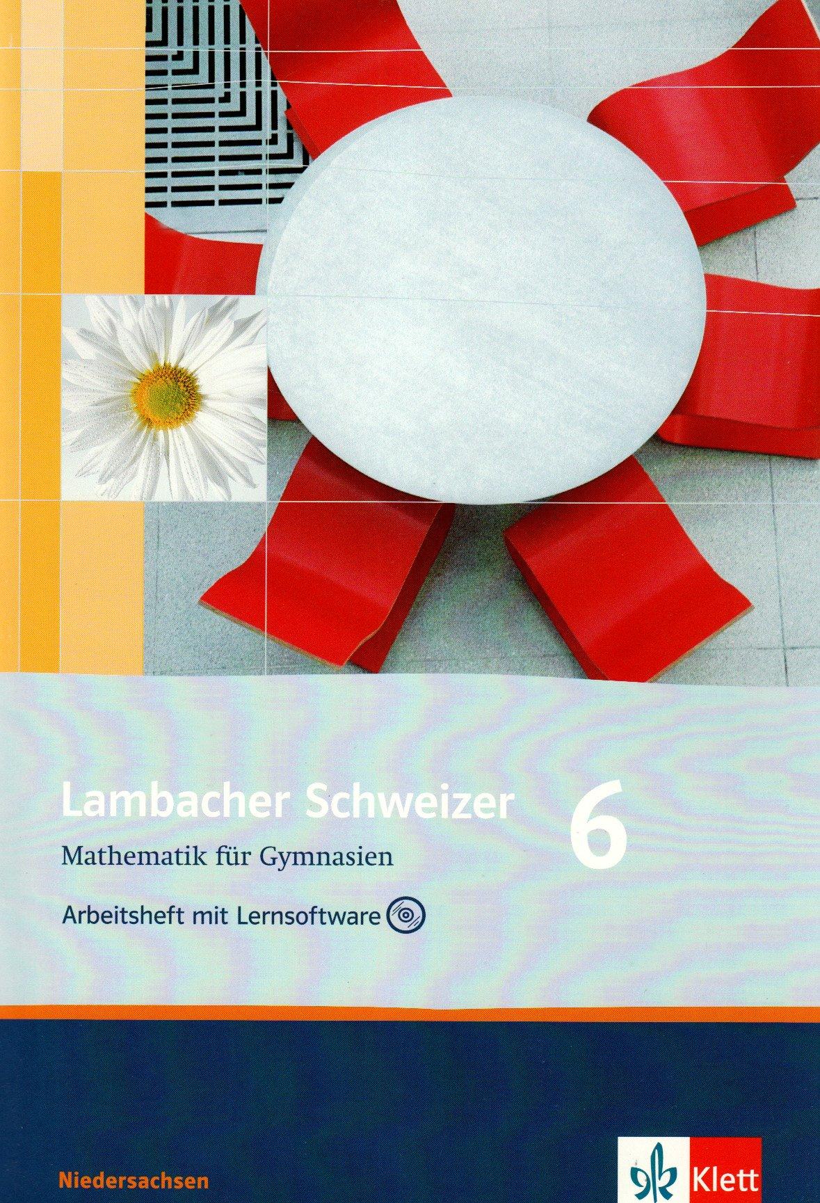 Lambacher Schweizer - Ausgabe für Niedersachsen / Arbeitsheft mit Lösungsheft und Lernsoftware 6