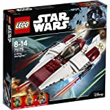 Lego Star Wars 75175,A- Wing Starfighter, giocattolo