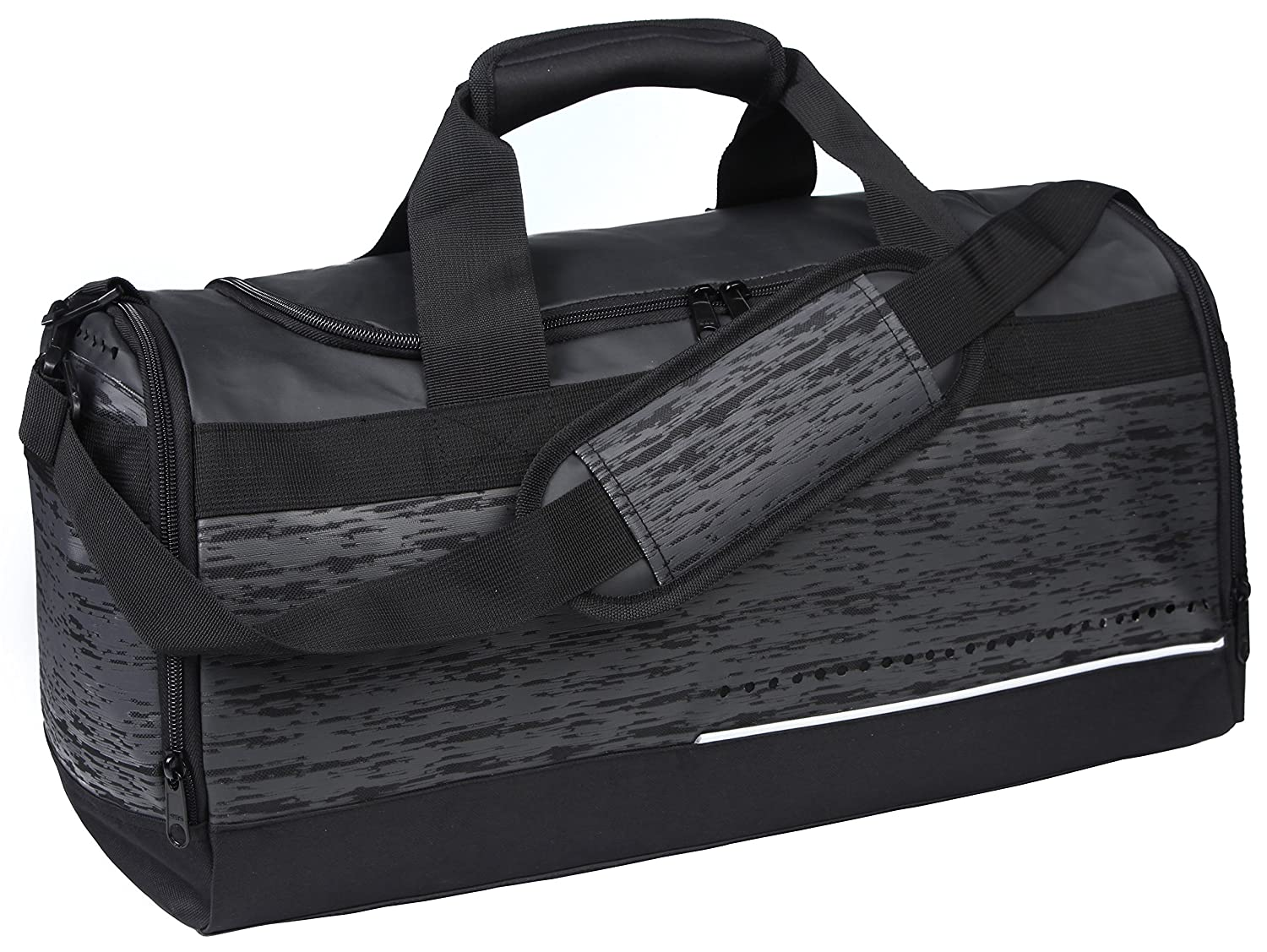 MIER Mens Holdall Gym Bag Sports Duffel Bag with Shoes Compartment for  Weekender, Overnight, Carry on, 40L, Black  Amazon.co.uk  Luggage 836bf88cbf
