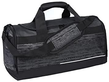 MIER Mens Holdall Gym Bag Sports Duffel With Shoes Compartment For Weekender Overnight