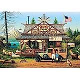 Buffalo Games - Charles Wysocki - Proud Lil' Angler - 300 Large Piece Jigsaw Puzzle