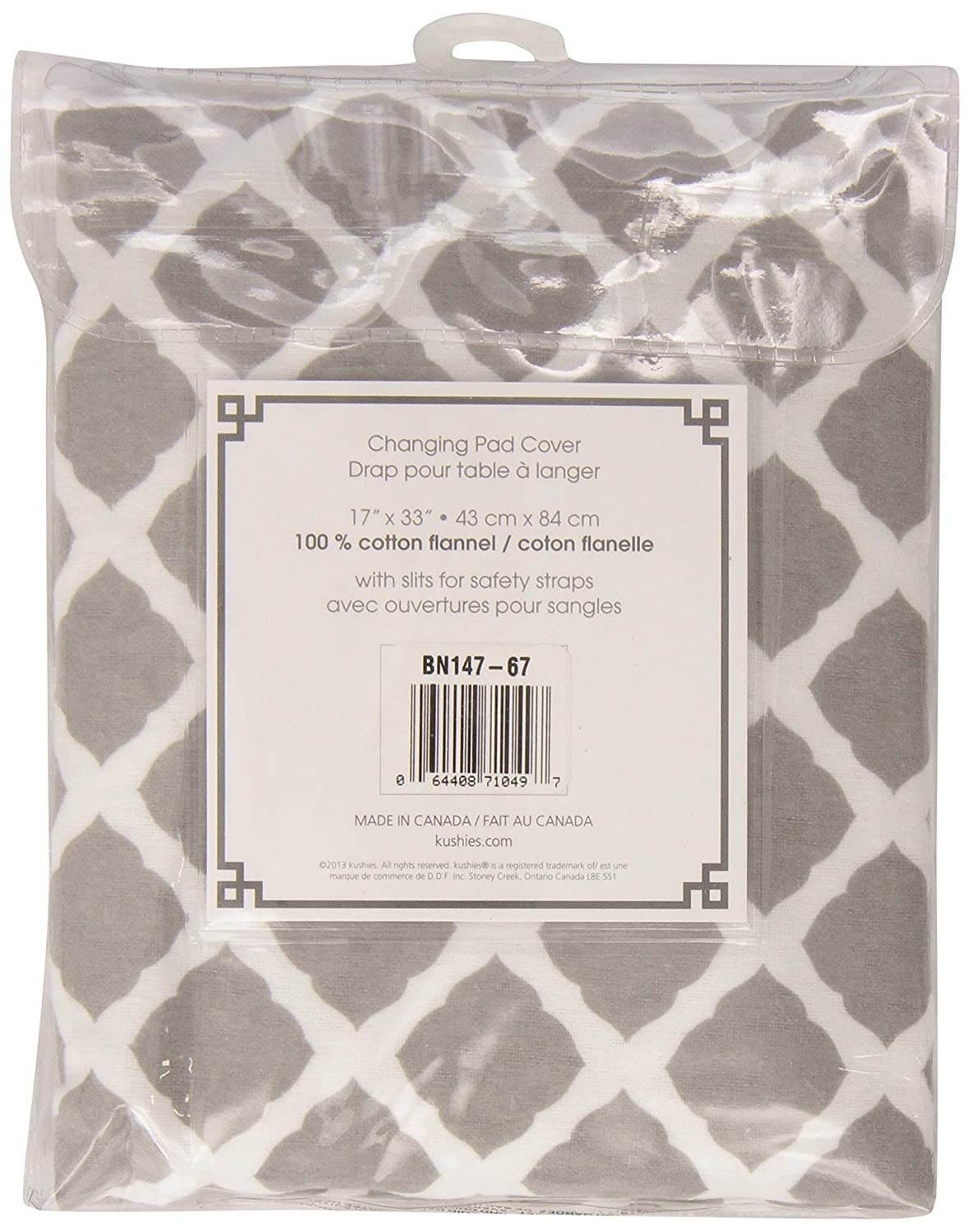 Ben /& Noa Flannel Fitted Change Pad Sheet with Slits for Safety Straps Pink Solid