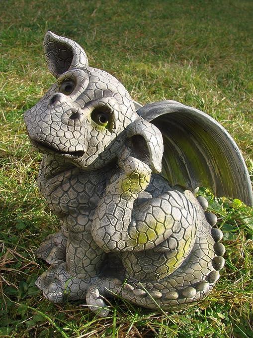 INES4294 Niño en Lugar Itch – Dragon de gárgola: Amazon.es: Jardín