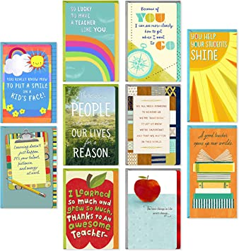 Stupendous Hallmark Teacher Appreciation Cards Assortment For Preschool Funny Birthday Cards Online Fluifree Goldxyz
