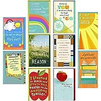 Hallmark Teacher Appreciation Cards Assortment for Preschool, Kindergarten, Elementary School, Graduation or Back to…