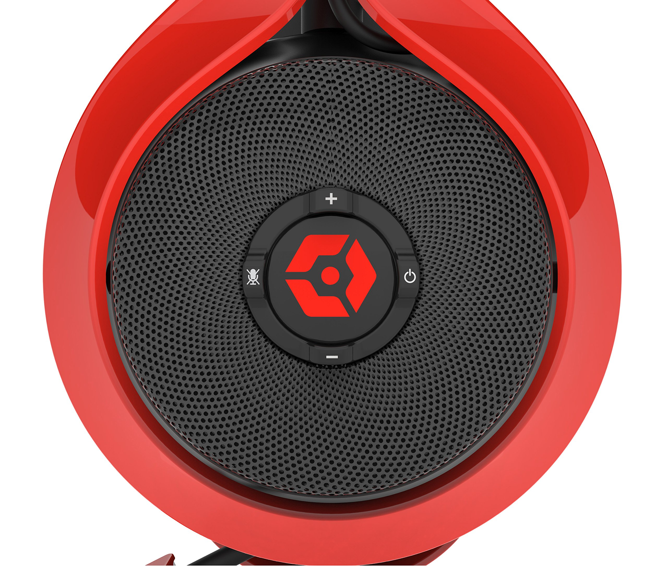 Gioteck FL-300 Wired Stereo Headset with Removable Bluetooth Speakers - PlayStation 4 - Red by Gioteck (Image #5)