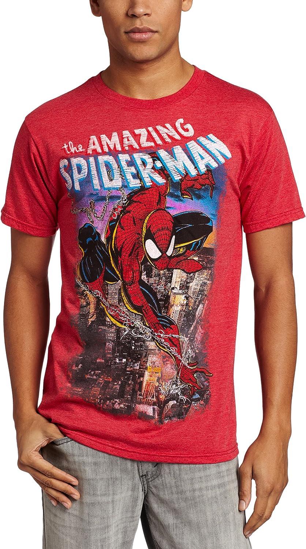 Amazon Com Marvel Men S Amazing Spider Man T Shirt Clothing