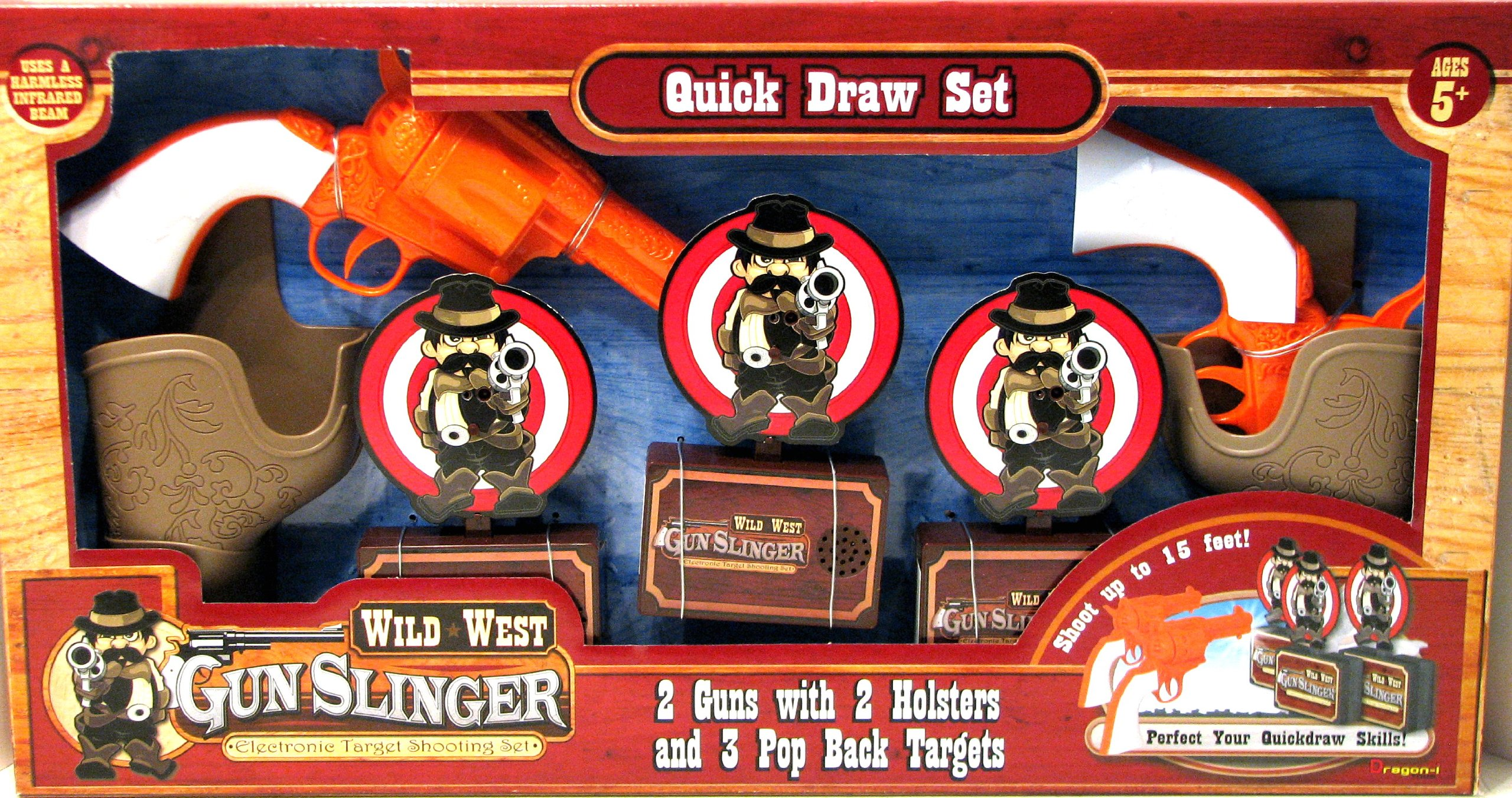 wild west gunslinger game
