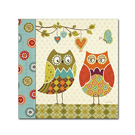 Amazon.com: Owl Wonderful I Wall Decor by Lisa Audit, 18\