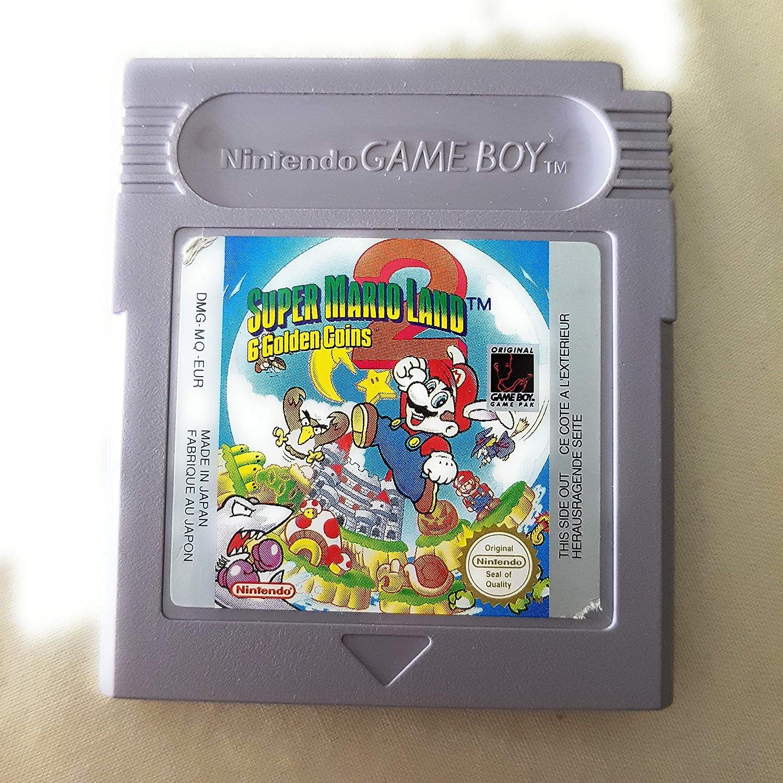 Amazon Com Super Mario Land 2 6 Golden Coins Gameboy Video Games