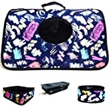 LANGDI Cat Carrier Trendy Small Dog Carrier Soft Sided, Cat Carriers Dog Carrier Pet Carrier for Small Medium Cats Dogs Puppi