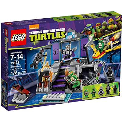 LEGO Teenage Mutant Ninja Turtles Theme - 79122 Shredders Lair Rescue: Toys & Games