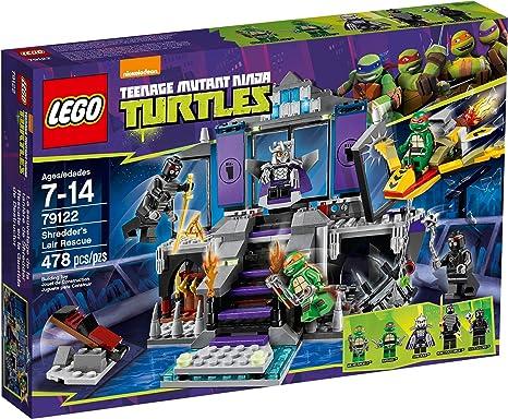 LEGO Teenage Mutant Ninja Turtles Theme - 79122 Shredders Lair Rescue
