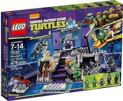 Teenage Mutant Ninja Turtles Shredder Toy : Amazon.com: lego teenage mutant ninja turtles theme 79122