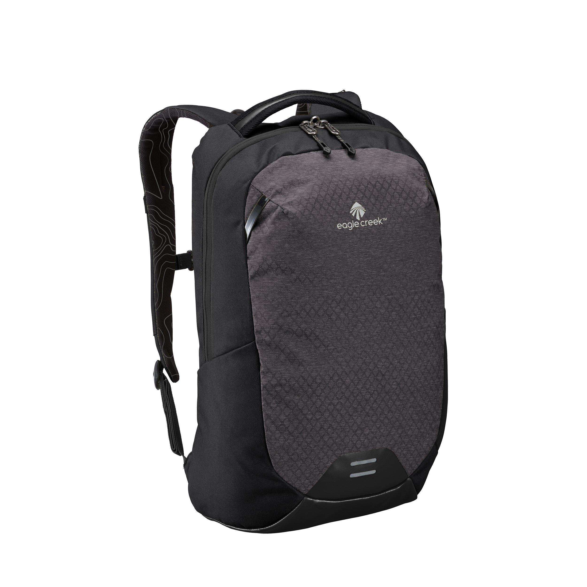Eagle Creek Wayfinder 20L Backpack-multiuse-15in Laptop Hidden Tech Pocket Carry-On Luggage, Black/Charcoal