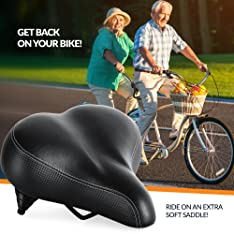 Bikeroo seat for bicycle
