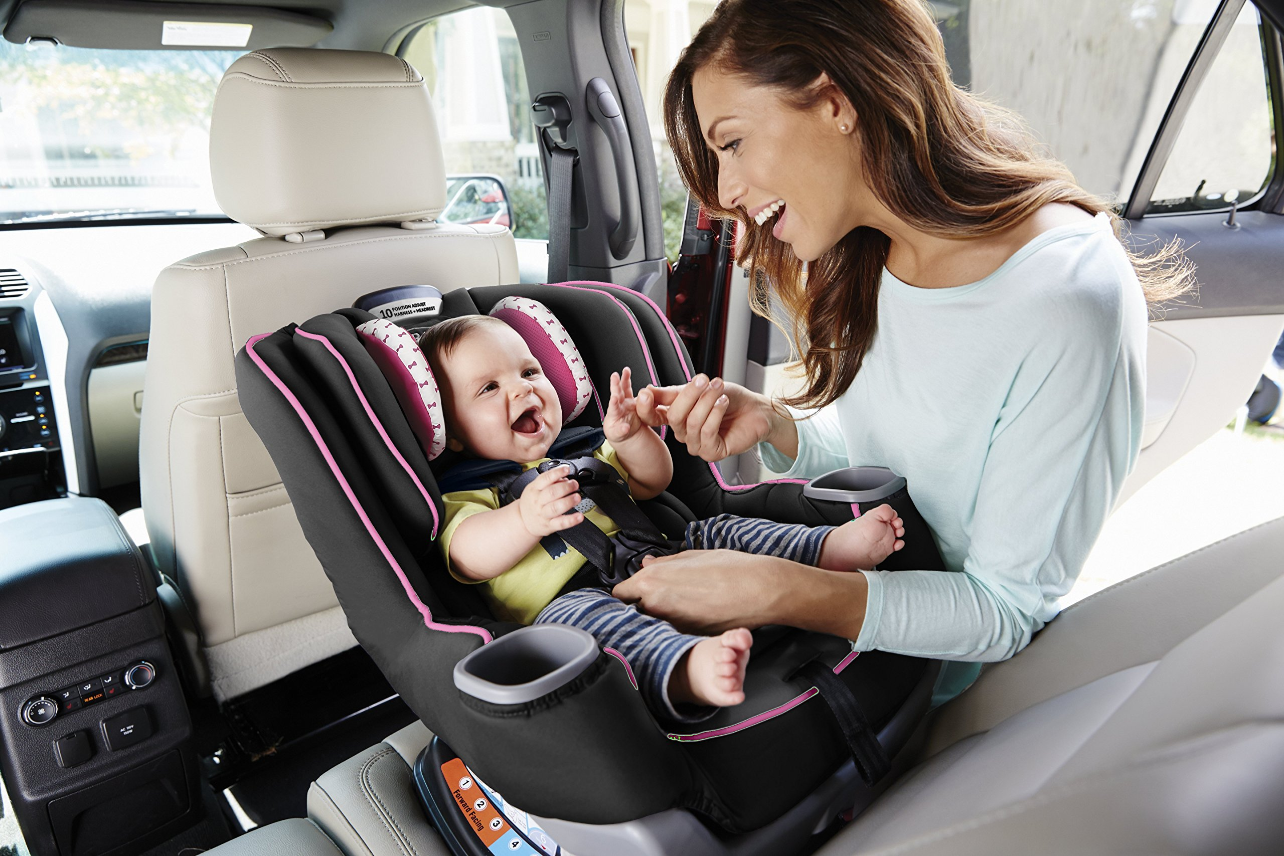 Graco Extend2Fit Convertible Car Seat, Kenzie by Graco (Image #6)