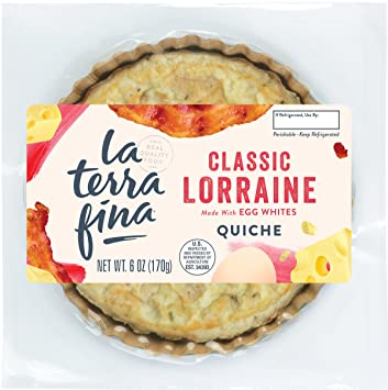 La Terra Fina Classic Quiche Lorraine 6 Oz Amazon Grocery