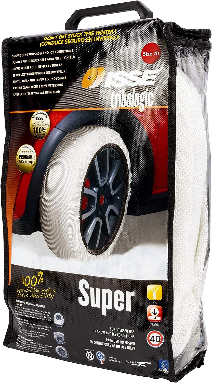 Size 62 Shark C50062 Super Longer Life Issue Snow Socks for Traction