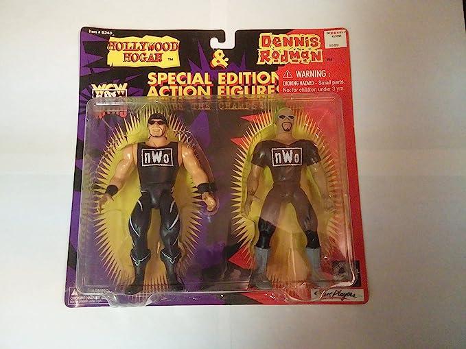 WCW NWO big boys Collectible Figures Hollywood Hogan Bobble Head t5536