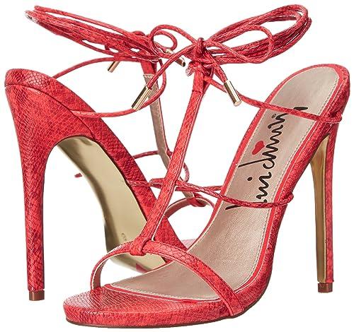 Luichiny Su Historia de La Mujer Vestido Sandalia, (Red/Orange Snake), 39: Luichiny: Amazon.es: Zapatos y complementos