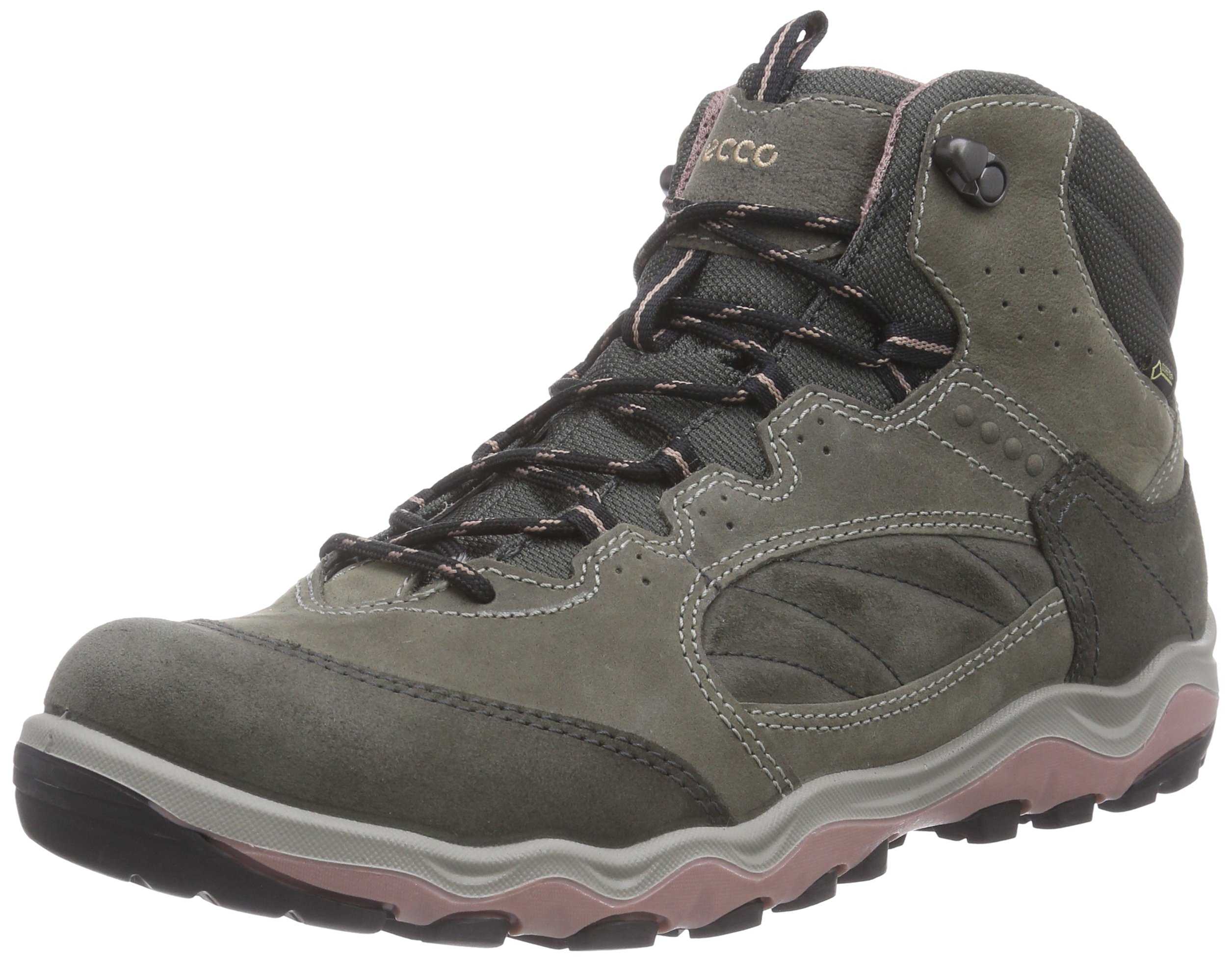 ECCO Women's Ulterra Mid GTX Hiking Boot Waterpoof Climate Control Dry (38 (US 7-7.5))