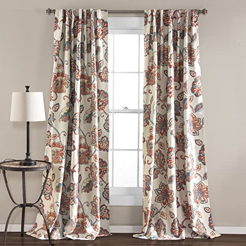Lush Decor Aster Window Room-Darkening Curtain