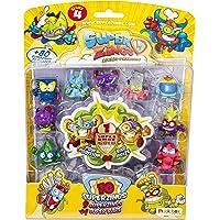Superzings - Serie 4 - Blister 10 figuras (9 figuras SuperZings + 1 figura dorada Super Rare), modelos surtidos