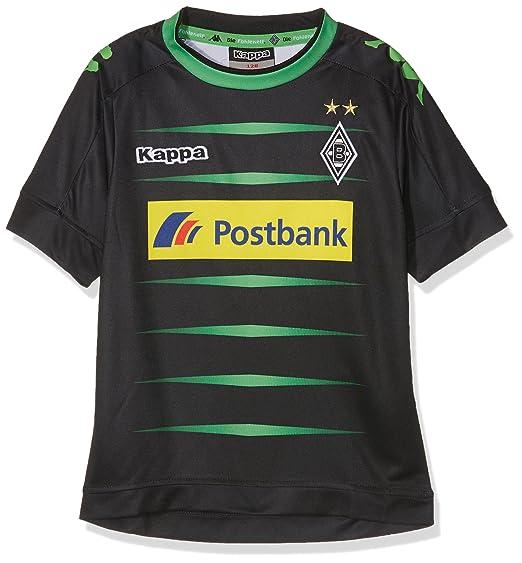 Kappa BMG - Camiseta de fútbol 3rd 2016/2017 Borussia Mönchengladbach, Infantil, Trikot 3rd 2016/2017, Negro, Large: Amazon.es: Deportes y aire libre