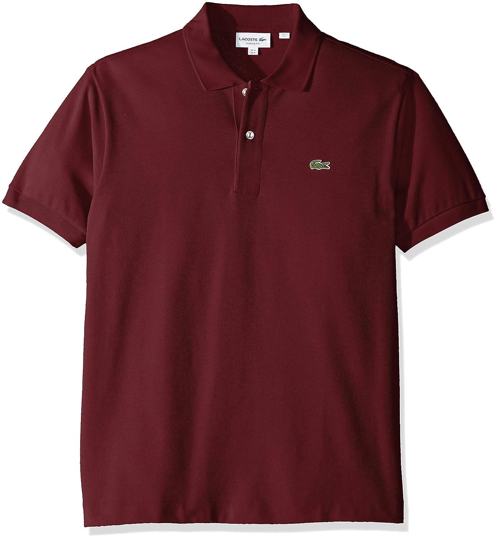 678ecd1f Lacoste Men's Short Sleeve Pique L.12.12 Classic Fit Polo Shirt, L1212 at  Amazon Men's Clothing store: