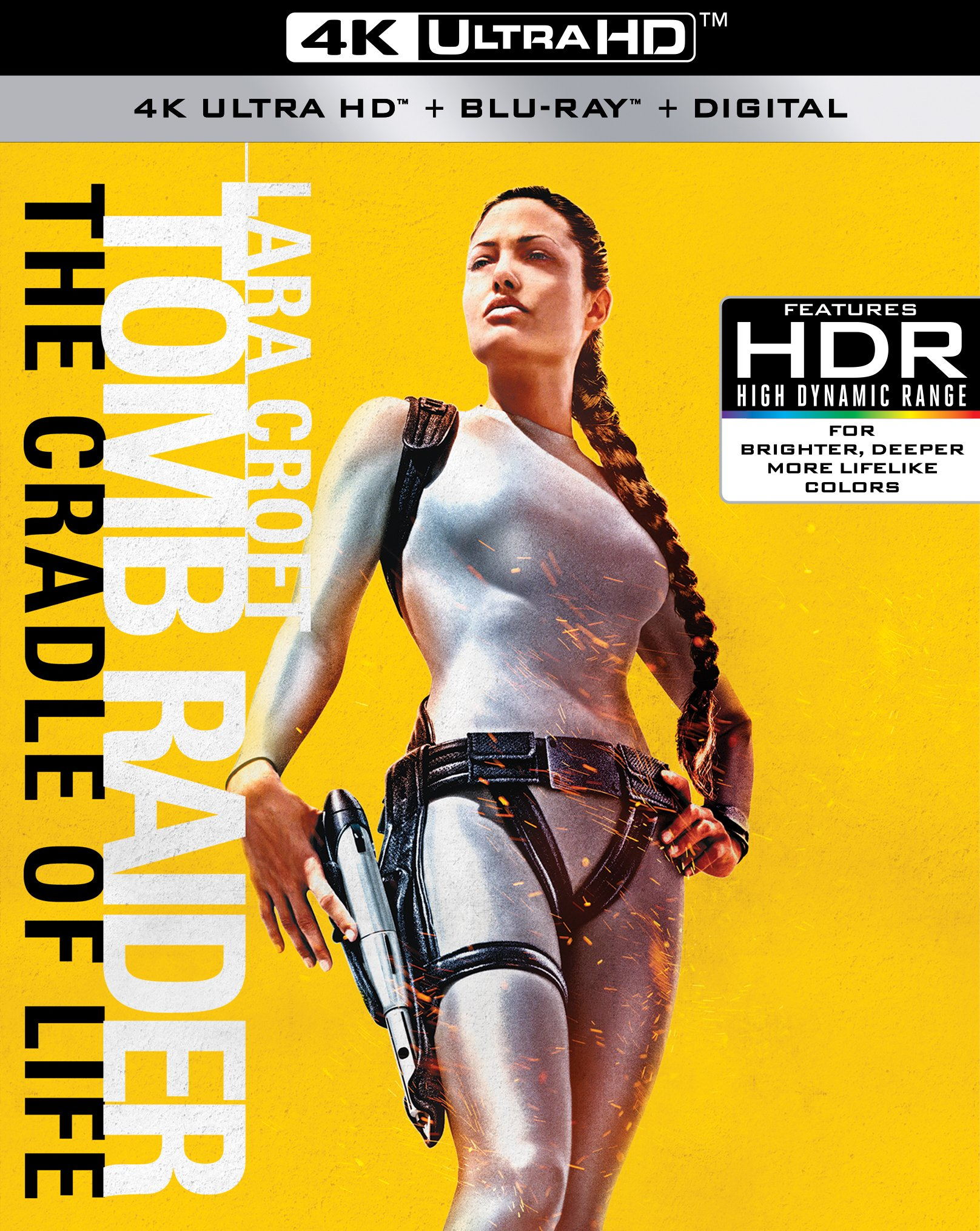 4K Blu-ray : Lara Croft Tomb Raider: The Cradle Of Life (4K Mastering, Widescreen, Amaray Case, 2 Pack, Dubbed)