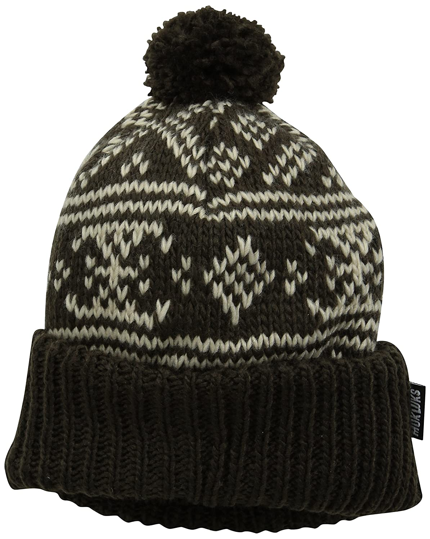 MUK LUKS HAT レディース One Size ブラウン B014TE99GI