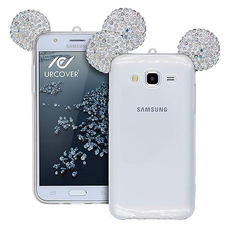 Urcover® Samsung Galaxy A3 Funda [Orejas de Ratón] Silicona ...