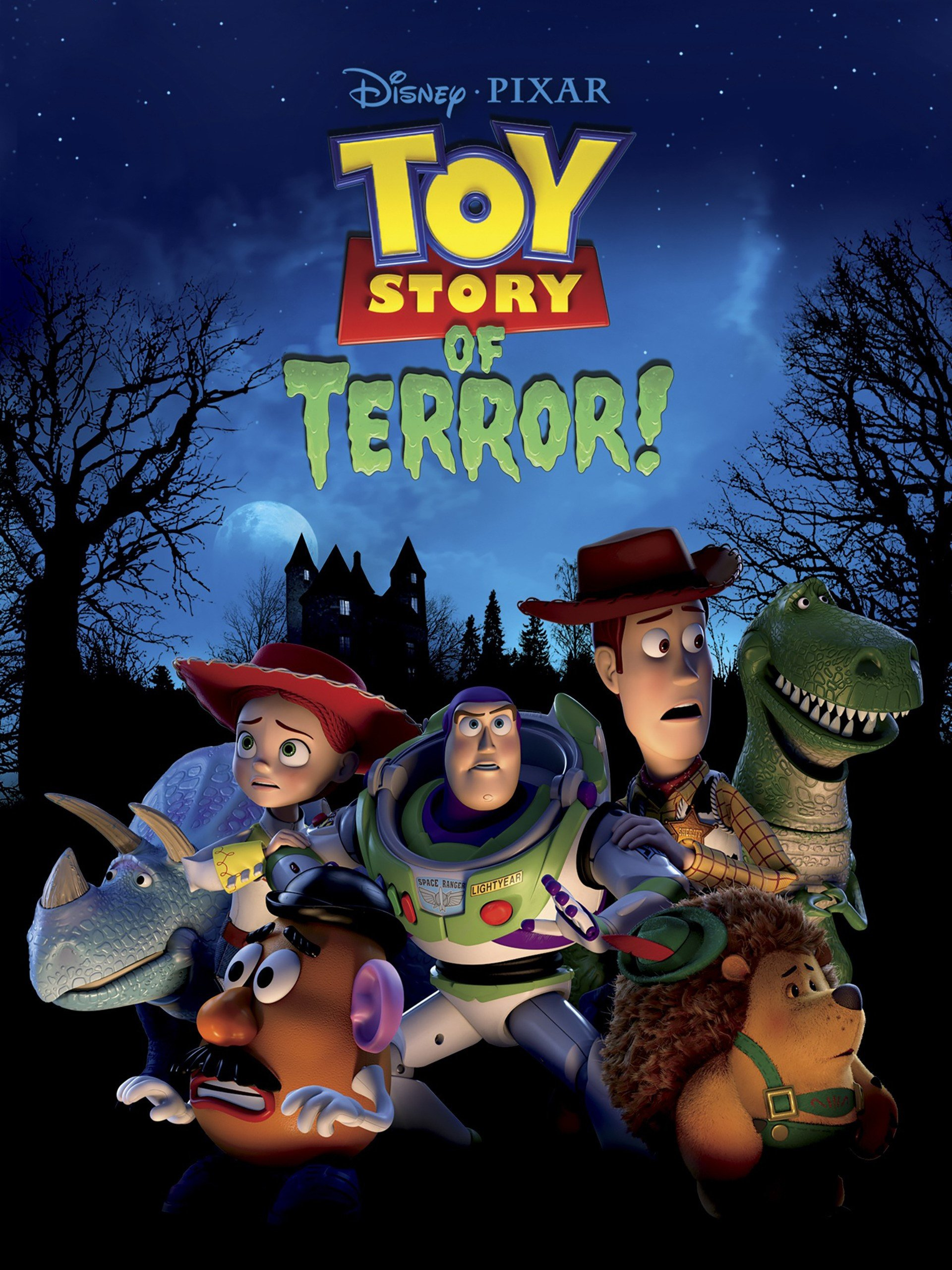 Toy Story of Terror! Compilation (Plus Bonus Features) by