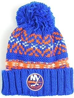 34e0989899e Amazon.com   Reebok NHL Center Ice Men s Cuffed Knit Beanie Hat with ...