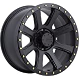 "Mamba M16 Matte Black Wheel (17x9""/6x139.7mm, -12mm offset)"