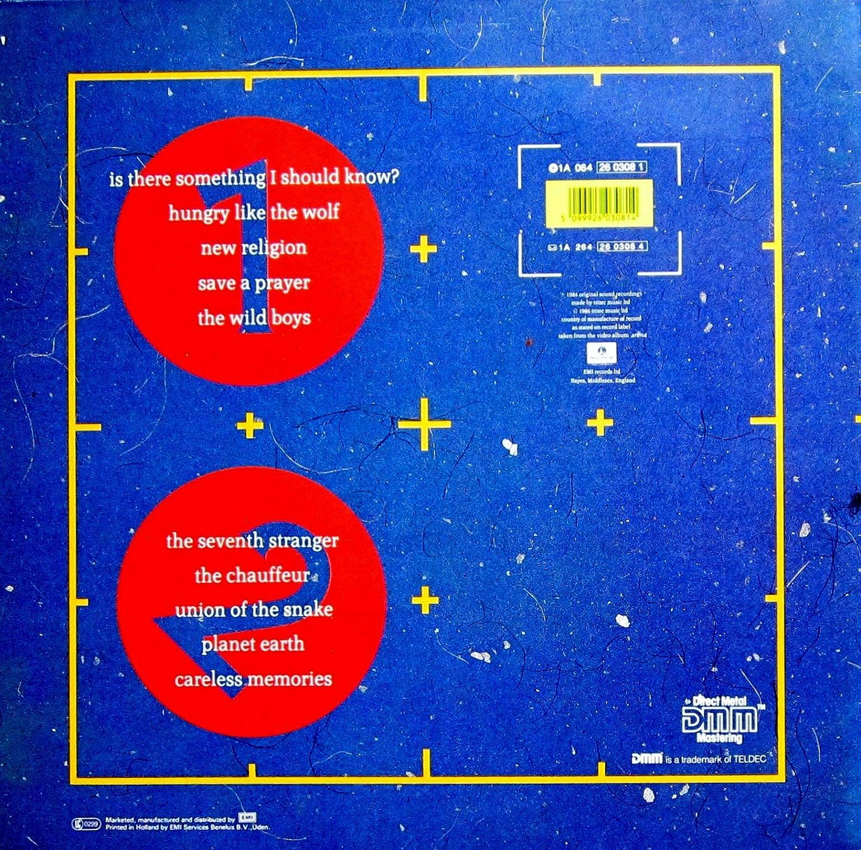 Arena [Vinyl LP] Duran Duran Amazon Musik