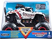 Monster Jam, Official Monster Mutt Dalmatian Monster Truck, Die-Cast Vehicle, 1:24 Scale