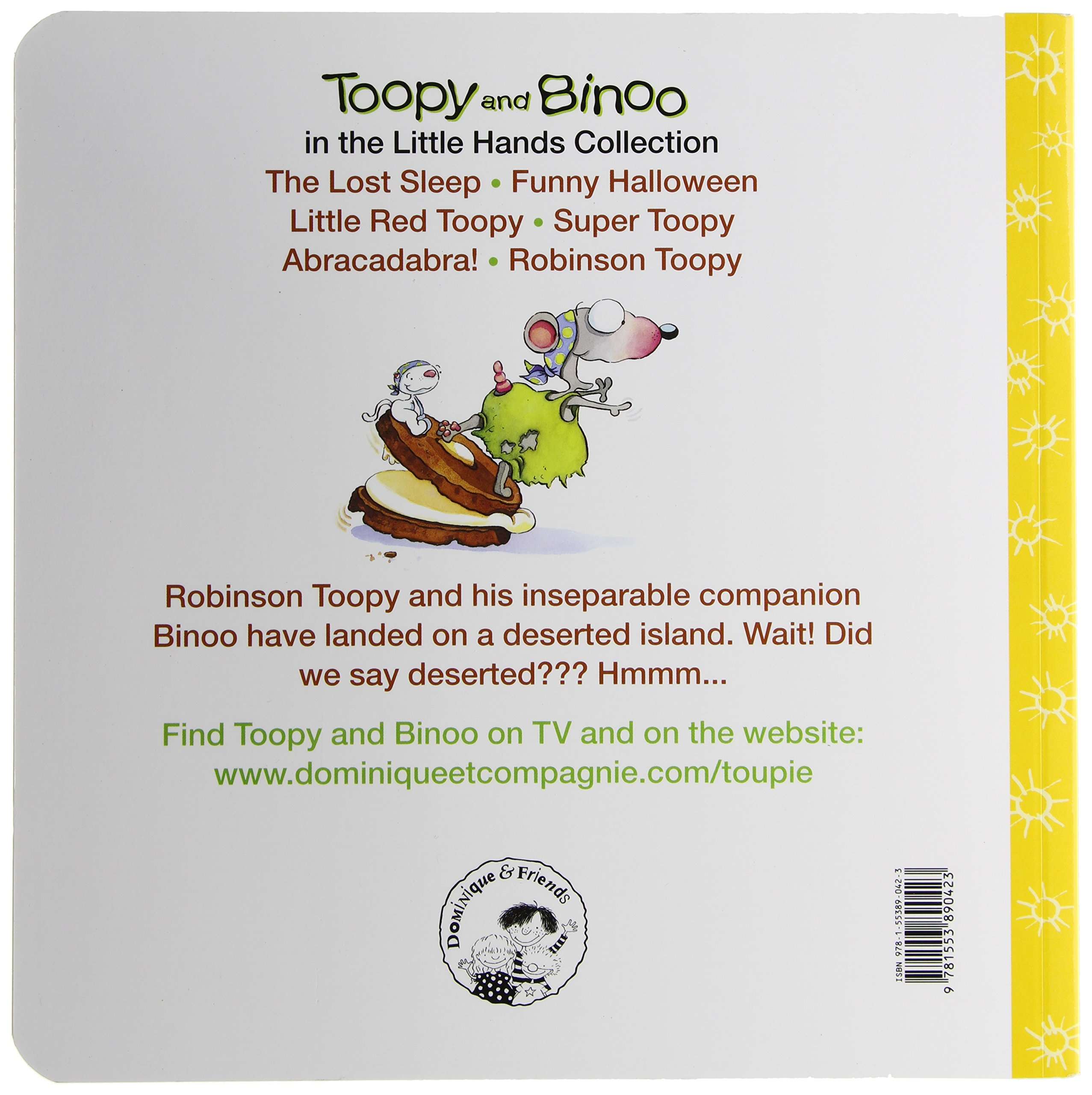 robinson toopy toopy and binoo dominique jolin 9781553890423