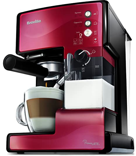 Breville VCF046X Prima Latte - Máquina de café