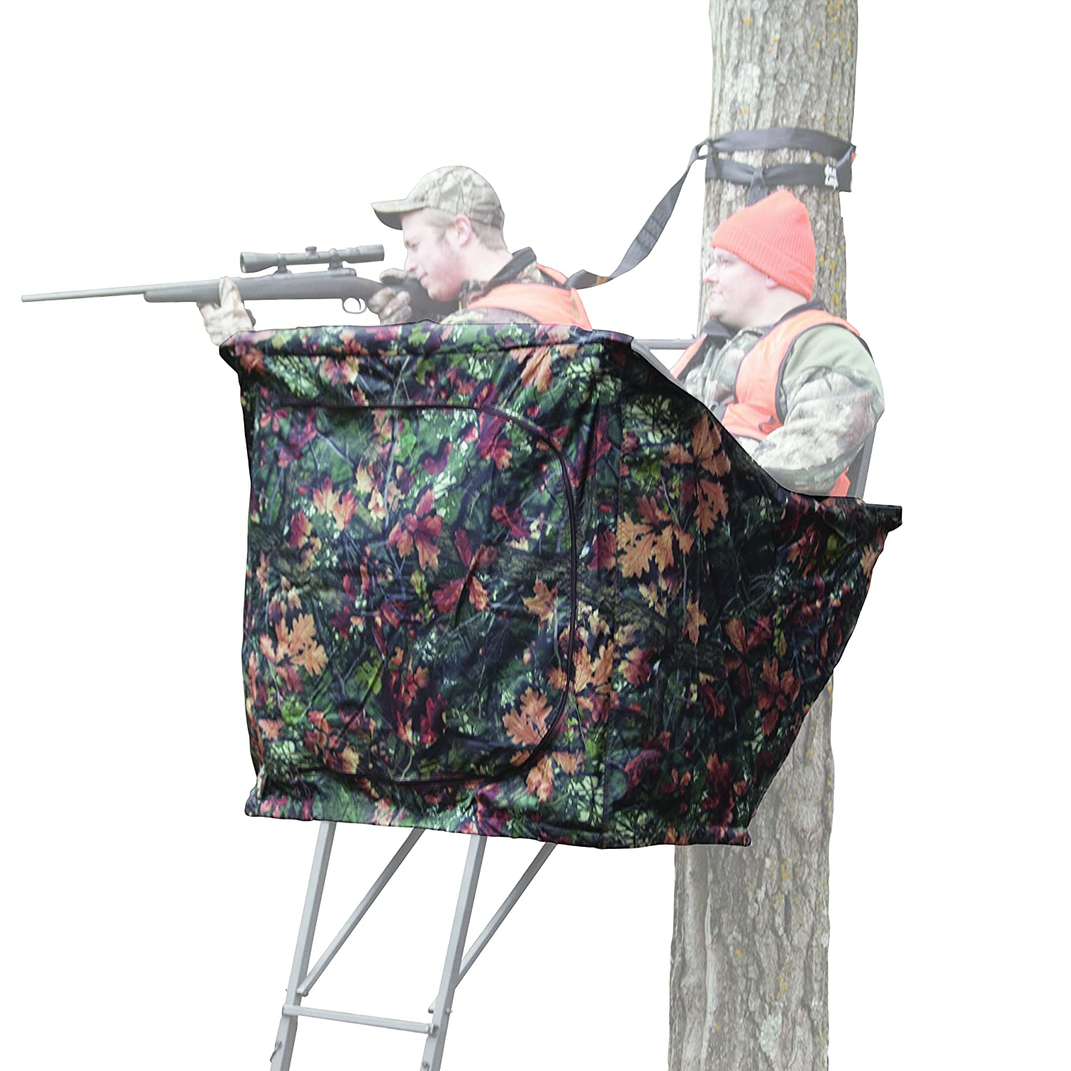 Rivers Edge RE771 Relax 2-Person Ladder Stand Curtain