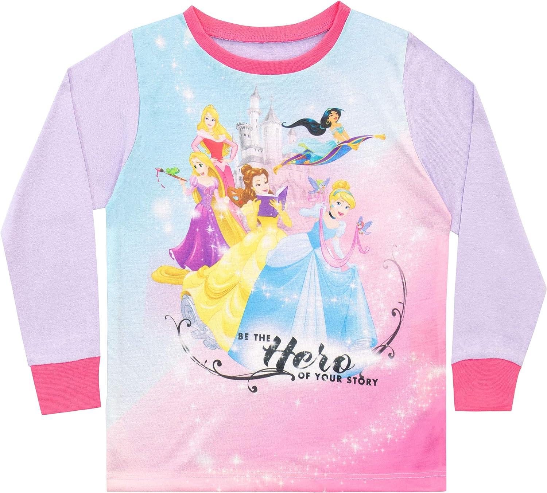 Disney Pigiama a Maniche Lunghe per Ragazze Principesse