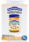 Peanut Butter & Co. Peanut Butter, Gluten Free, The Bee's Knees Squeeze (Honey) Packets, 1.15 Ounce (Pack of 20)