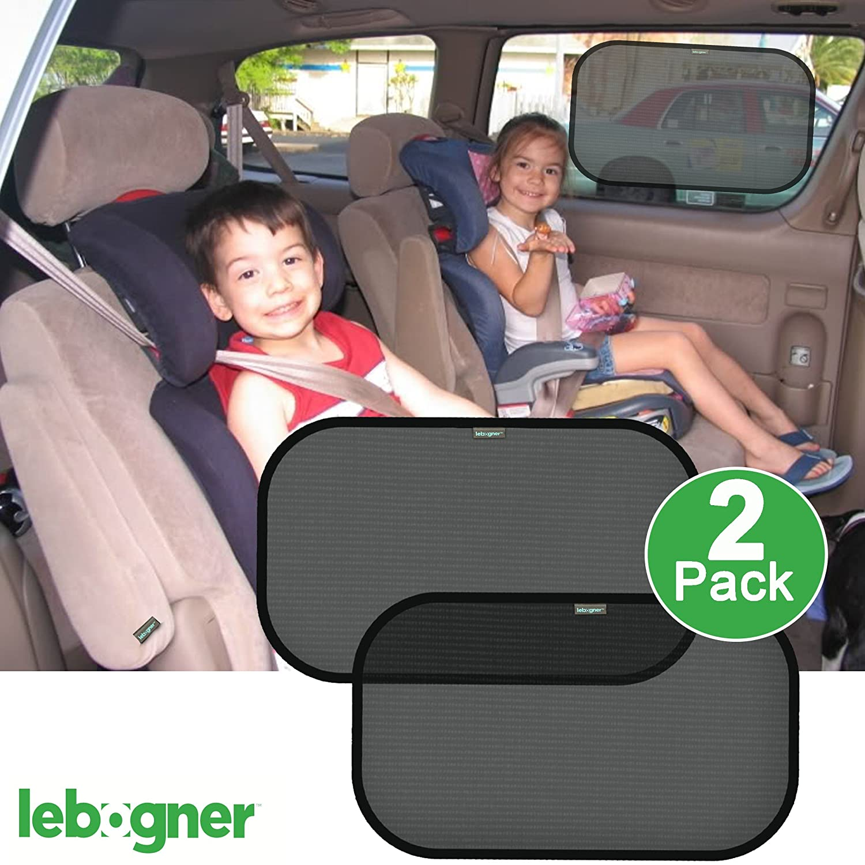 Lebogner 2 Pack Premium Quality Large Car Cling Sun Shield LOR-A-1012