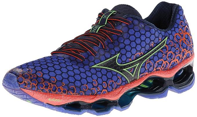 online retailer 8140e da074 Mizuno Men s Wave Prophecy 3 Running Shoe,Dark Grey,8 ...
