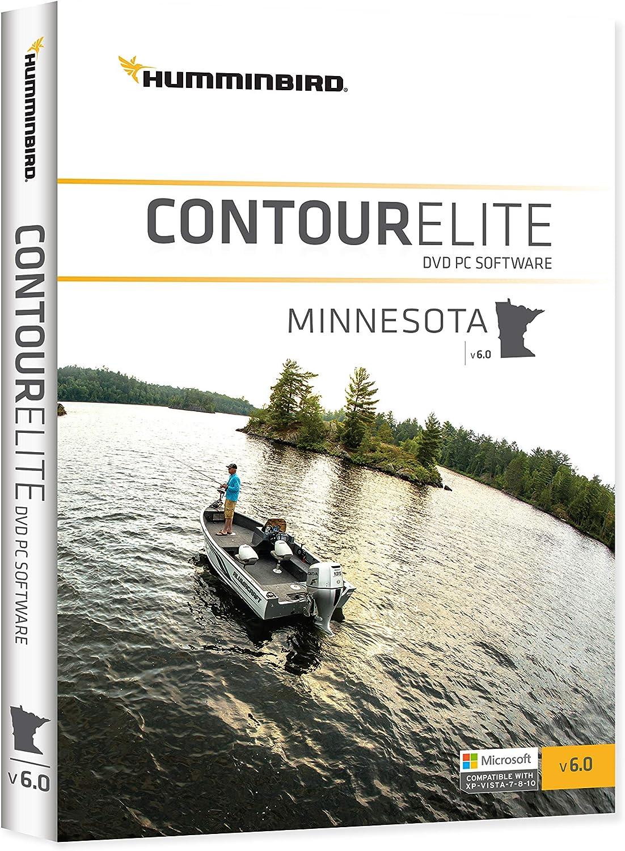 Humminbird 600022-5 Humminbird 600022-5 Contour Elite Mapping Software Start MAR 2019 Minnesota V7 PC Software