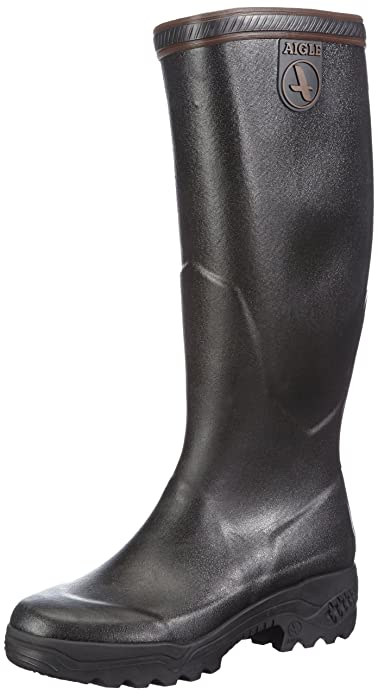 Aigle UnisexAdult Parcours 2 Wellington Boots  Noir