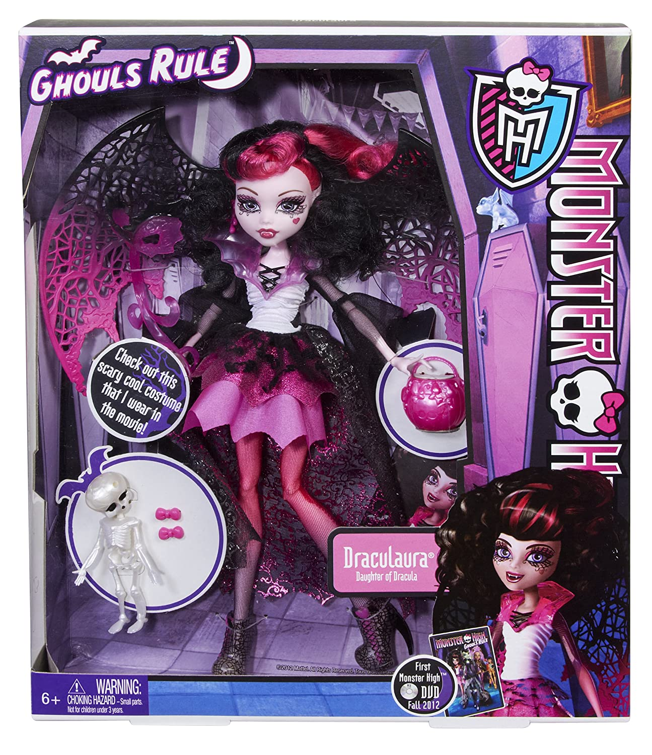 Uncategorized Monster High Draculaura amazon com monster high ghouls rule doll draculaura toys games